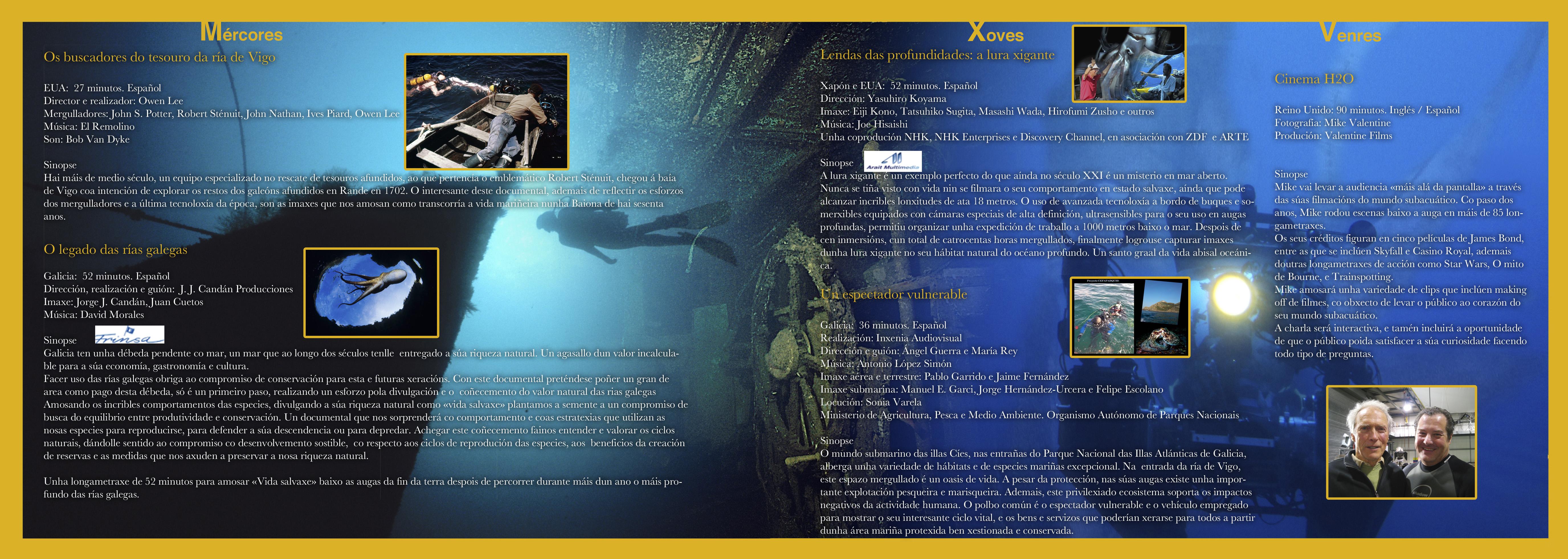 cine submarino programacion