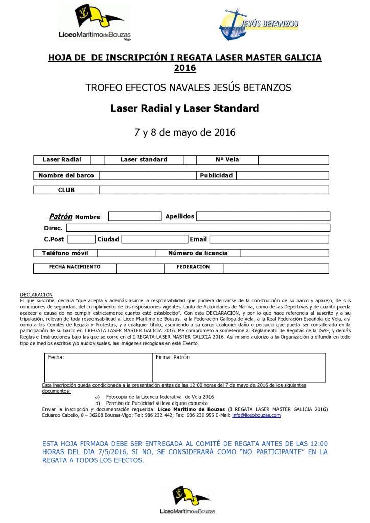 Hoja Inscripción I REGATA LASER MASTER GALICIA 2016-page0001