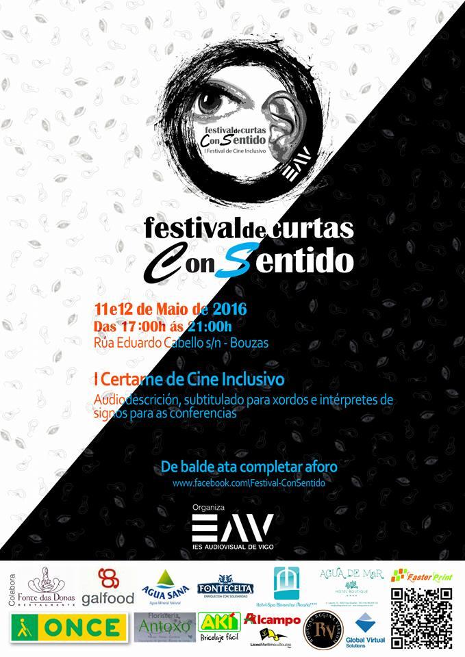 Festival de Cine Inclusivo en la Escuela Audiovisual de Vigo en Bouzas